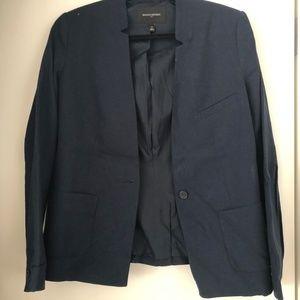 Banana Republic Factory navy linen blazer (size14)